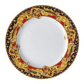 image-Versace Home - Christmas Barocco Lunch Plate