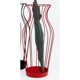 image-Hillhurst Umbrella Stand Ebern Designs Finish: Red