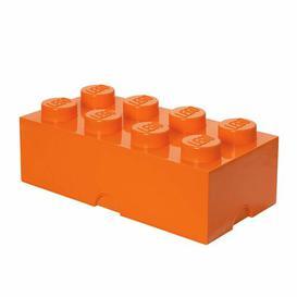 image-Brick Toy Box LEGO Finish: Bright Orange