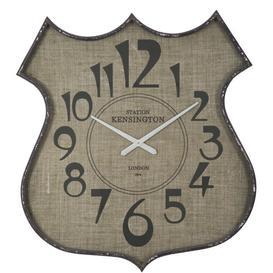 image-Polygala Wall Clock Fleur De Lis Living