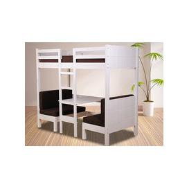 image-Sweet Dreams Quiz Wooden Bunk Bed