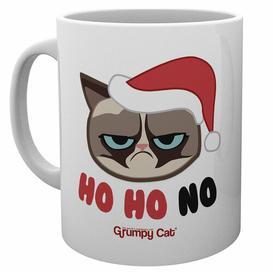 image-Grumpy Cat Ho Ho Ho Christmas Mug Happy Larry