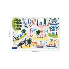 image-Villa Nova Island Hopping Wall Stickers, Multi, W592/01