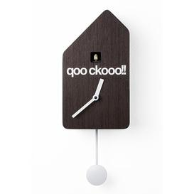 image-Beckmann Cuckoo Clock Ebern Designs Colour: Dark wood