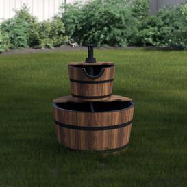 image-Servin Water Pump Fountain Garden Wishing Well Sol 72 Outdoor