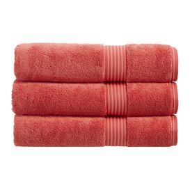 image-Christy - Supreme Hygro Towel - Coral - Hand