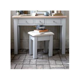 image-Chester Dove Grey Dressing Table Stool