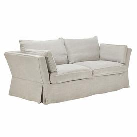 image-Aubourn 3 Seater Sofa COVER ONLY - Silver Grey
