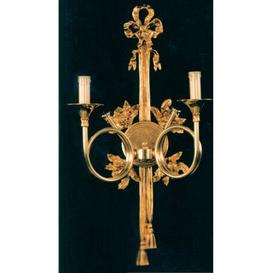 image-Benedetto 2-Light Candle Wall Light Astoria Grand