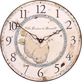 image-36cm Pears of Provence Wall Clock Roger Lascelles Clocks