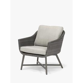 image-KETTLER LaMode Garden Lounge Chairs with Cushions, Set of 2, Grey Ash
