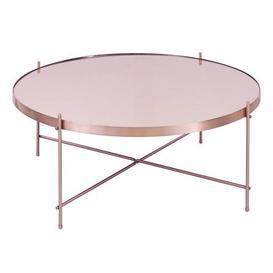 image-Oakland Circular Copper Coffee Table - Copper Copper