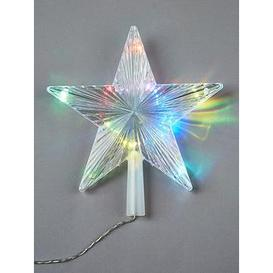 image-Colour Changing Christmas Tree Topper Star