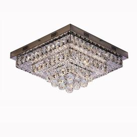 image-Atkinson 46-Light 45cm LED Flush Mount Willa Arlo Interiors
