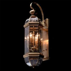 image-Creevery 4-Light Outdoor Wall Lantern Astoria Grand