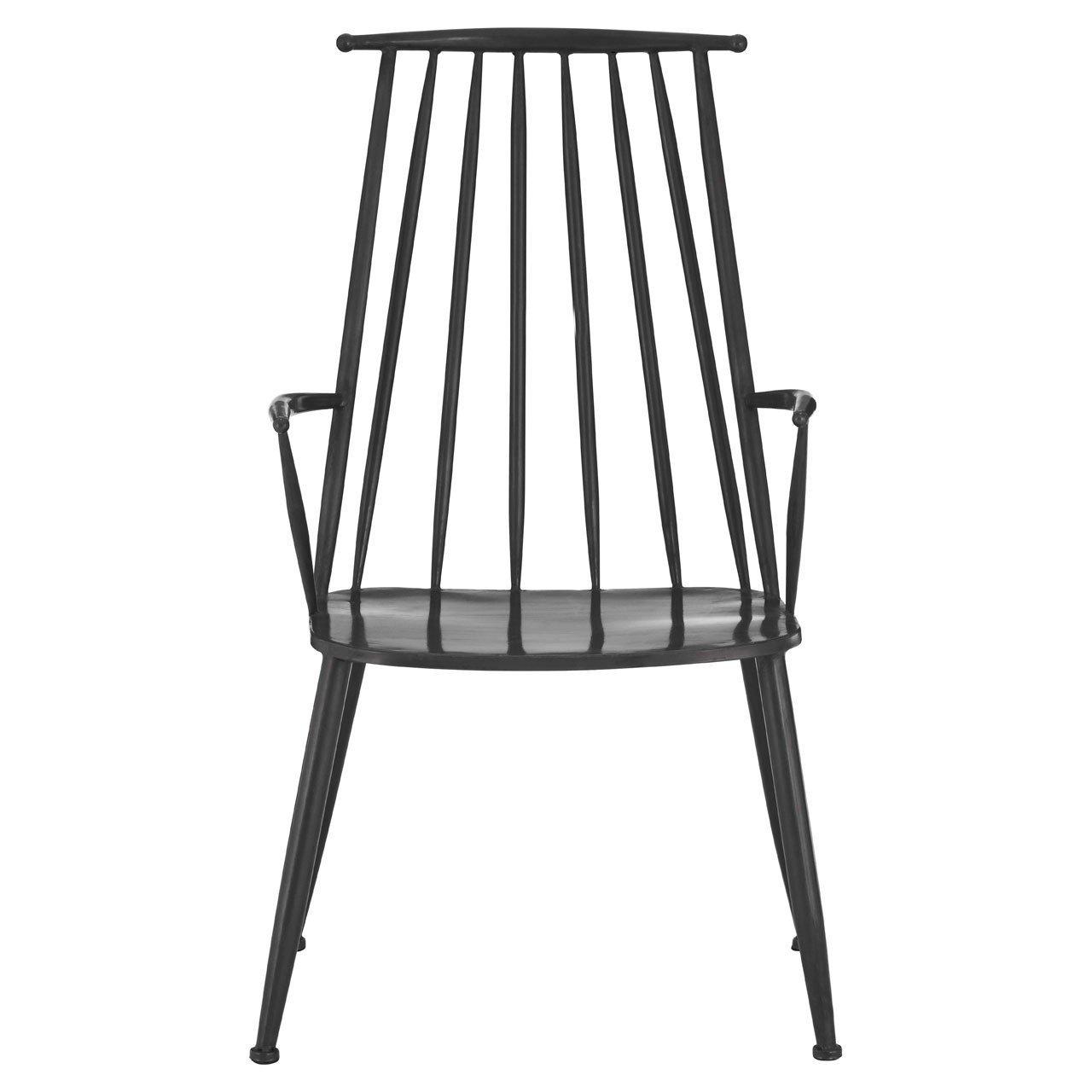 image-Olivia's Metal Industrial Armchair
