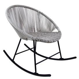 image-Sam Rocking Chair Hykkon Colour: Grey