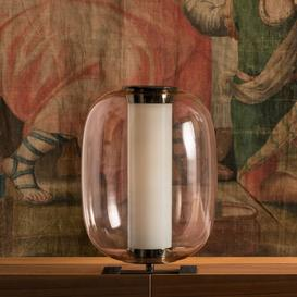 image-Meridiano LED Table lamp - / Ø 31 x H 43 cm by Fontana Arte Pink