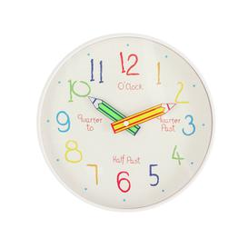 image-Argos Home Children's Tell the Time Wall Clock