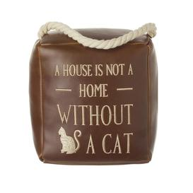 image-A House Is Not A Home Cat Door Stop By Heaven Sends