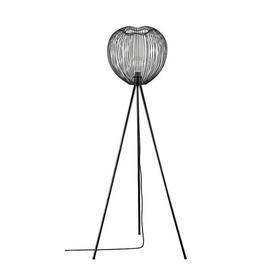 image-Marez 160cm Tripod Floor Lamp Mercury Row Shade Colour: Matt Black