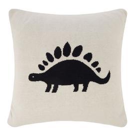 image-Retreat - Kids Knitted Cushion - 40x40cm - Dinosaur