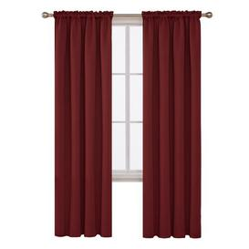 image-Jarmericus Blackout Thermal Curtains Mercury Row Panel Size: 140 W x 180 D cm, Colour: Red