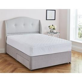 image-Soft as Silk Mattress Protector Silentnight Size: Double (4'6)