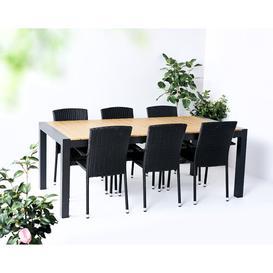 image-Jaidon 6 Seater Dining Set Sol 72 Outdoor