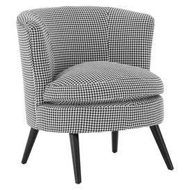 image-Dogtooth Round Tub Chair Symple Stuff