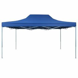 image-Fratessa 3m x 4.5m Steel Pop-Up Gazebo Sol 72 Outdoor Colour (Roof): Blue