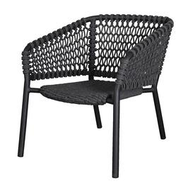 image-Cane-line Ocean Dark Grey Lounge Outdoor Chair
