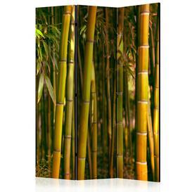 image-Tadley Room Divider Bay Isle Home Number of Panels: 3, Colour: Green/Orange