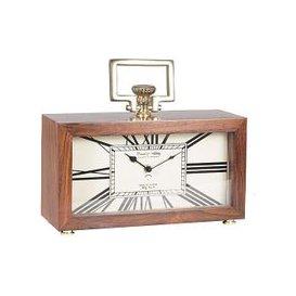 image-Sheesham Table Clock