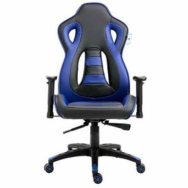 image-Ergonomic Gaming Chair Symple Stuff Colour (Upholstery): Black/Blue