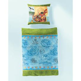 image-Capt'n Sharky Children's Duvet Cover Set Bierbaum Materialqualität: Renforcé