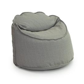 image-Large 'Logan' Tub Bean Bag Chair Ebern Designs Upholstery Colour: Ash