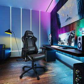 image-Ergonomic Gaming Chair KINWELL Colour: Black