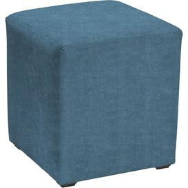 image-Newbury Cube Ottoman Mercury Row Upholstery: Kiera Teal