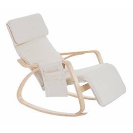 image-Peabody Rocking Chair Zipcode Design Upholstery: Beige
