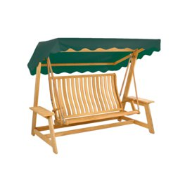 image-Alexander Rose Roble Swing Seat - Green