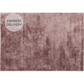 image-Merkoya Luxury Viscose Rug, Large 160 x 230cm, Pink