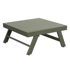 image-Westra Aluminium Side Table Dakota Fields Colour: Green