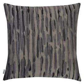 image-Nahlia Cushion Cover Metro Lane Colour: Grey/Taupe, Size: 46 x 46cm