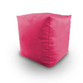 image-Maley Pouffe Ebern Designs Upholstery Colour: Pink
