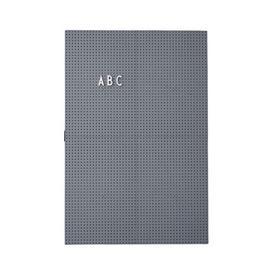image-A3 Memo board - / L 30 x H 42 cm by Design Letters Dark grey