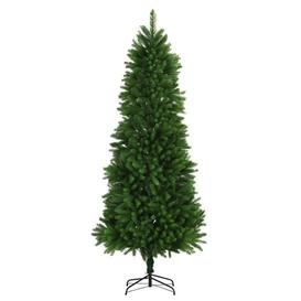 image-8ft Green Pine Artificial Christmas Tree with Stand Berkfield
