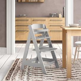 image-Sit Up High Chair roba Colour: Light grey