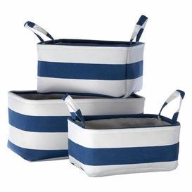 image-Kellie 3 Piece Fabric Basket Set Longshore Tides