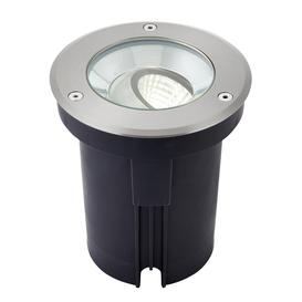 image-Hoxton 13w led recessed ground light in stainless steel. 1000LM - 4000K - IK08 & IP67 rated - 86740.